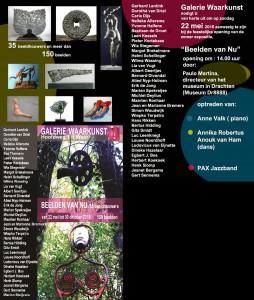 Flyer Galerie Waarkunst expo